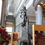 atrium statue