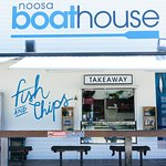 Take away Fish & Chips on the front deck