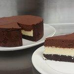Chocolate Trio Mousse Cake