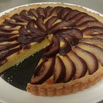 Almond and Pear Tart