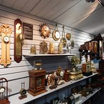 Hundreds of clocks of all types, sizes and ages.