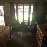 inside room 159.. King bed
