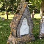 Odd tombstone