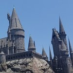 Hogwarts rooftops
