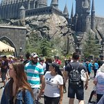 Hogwarts in distance