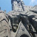 Towering view of Hogwarts