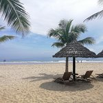 峴港美溪沙灘照片