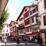 Rue Gambetta à Saint-Jean-de-Luz