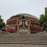 Exterior of the magnificent RoyalAlbert Hall