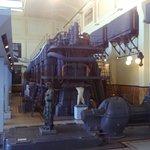 Motore diesel della centrale idroelettrica