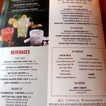 happy hour menu page