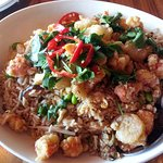 Chang's lobster & shrimp rice