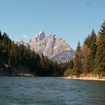 Grand Teton from the Snake River