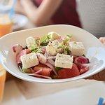 Choriatiki salad.