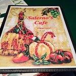 Salerno's Menu