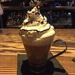 Dessert coffee drink