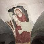 frescoes in crypt