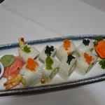 freshly handmake sushi