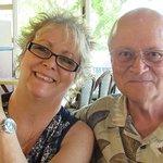 Janis & Tom enjoying Busch Gardens