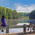 Lake Norman State Park is one of our most popular attractions, offering hiking, swimming, biking