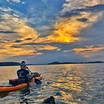Lake Norman offers watersports such as kayaking and canoeing, and also great sunsets!