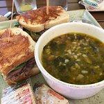 Italian Wedding Soup & Roast Beef Sandwich