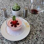 Great Dessert! Rose Panna Cotta