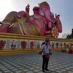 Me with big Ganesh