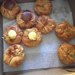 Plain, salted caramel and lemon creme Kouign-Amanns :)