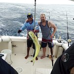 Awesome fishing day in costa rica