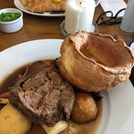 The Sunday Roast was absolutely amazing