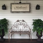 Entrance to Madison's Restaurant