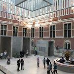 Modern reception area at Rijksmuseum, Amsterdam