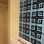 Dated Tiles in Gents Toilet