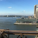 The East River from the Brooklyn Bridge
