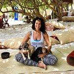 Studio owner and animal activist Richelle Morgan