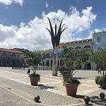 Vista de la Plaza Vieja en La Habana Vieja