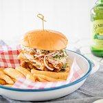 Chicken burger at Cafe 22
