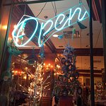 When you see the neon Open sign Olga's is open!