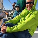 Enjoying the sail!