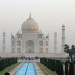 The stunning Taj Mahal is a must see