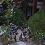 Lovely construction dump near guest room