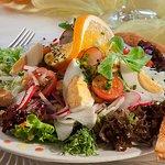 Unsere Salate sind sehr beliebt.