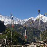 View from Annapurna circuit trek
