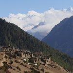 Annapurna circuit trek route