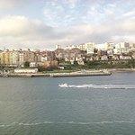 Approaching Santander