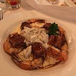 Shrimp and grits plus crab