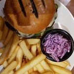 Char grilled minced Beef Burger