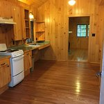 Cabin had both hot and cold water. Had a very small hot water that was perfect !