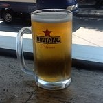 Bintang on tap. The best in town.
